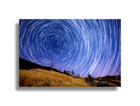 Star Trails Sonoma County Skies